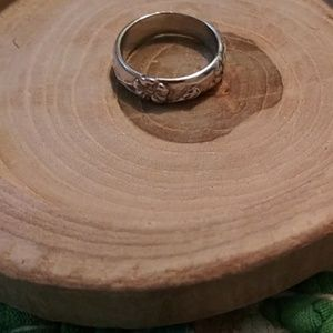 Authentic Tiffany and company nature ring